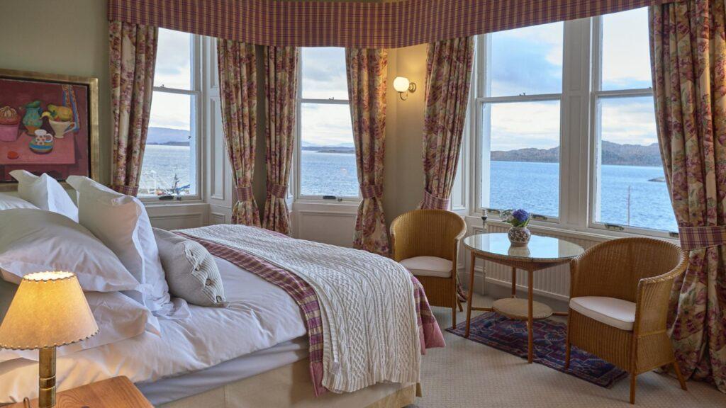 Crinan Hotel Bedroom