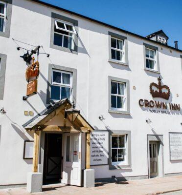 Crown Inn Pooley Bridge entrance